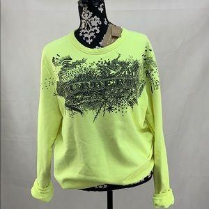 Authentic Burberry Neon Sweatshirt